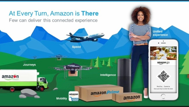 at every turn amazon is there